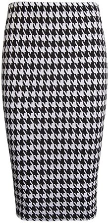 RM New Women's Printed Pencil Skirt, Midi Skirt Normal and Plus Size at Amazon Women's Clothing store