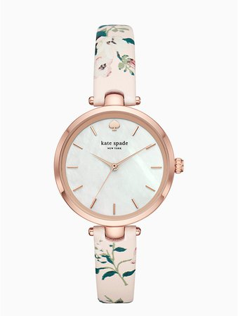 holland floral leather watch | Kate Spade New York