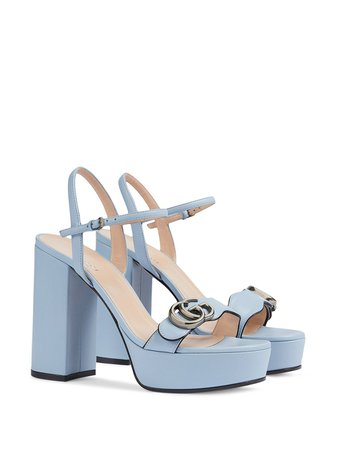 Gucci 115mm Block Heel Sandals - Farfetch