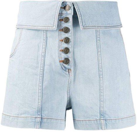 Kase high rise shorts