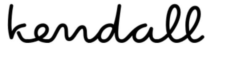 kendall font