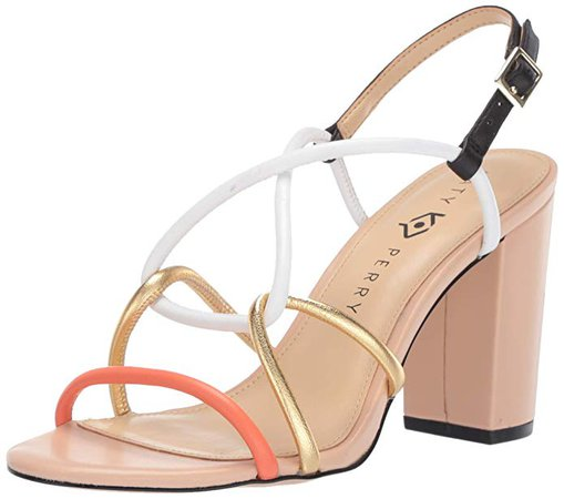 Amazon.com | Katy Perry Women's The Kendra-Nappa Heeled Sandal | Sandals