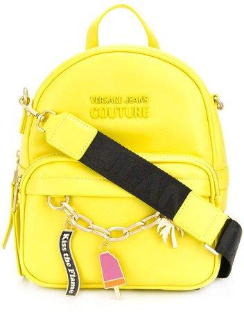 charm embellished backpack