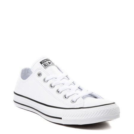 Converse Chuck Taylor All Star Lo Leather Sneaker - White | Journeys