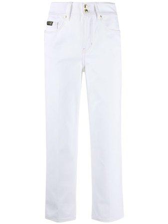 Versace Jeans Couture Jean Crop à Taille Haute - Farfetch