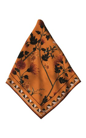 Aby Large Printed Scarf By Andres Otalora | Moda Operandi