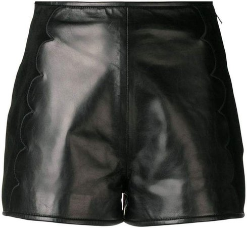scallop detail shorts