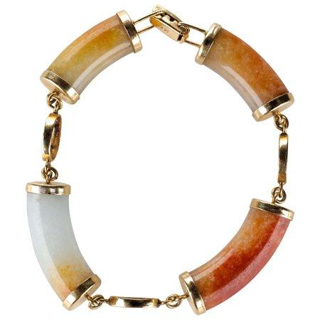 Ming's of Hawaii Jade Link Bracelet