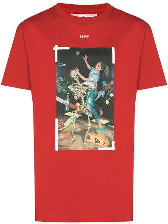 Off-White graphic-print T-shirt - Farfetch