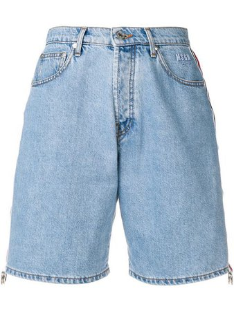 MSGM denim shorts $248 - Buy Online - Mobile Friendly, Fast Delivery, Price