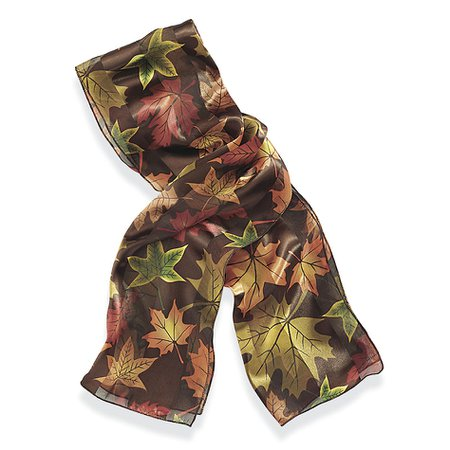 Autumn Leaves Scarf & Affordable Fashion Jewelry - Shop Now