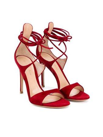 GIANVITO ROSSI thin ankle strap sandals
