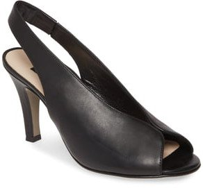 Avanti Peep Toe Slingback Sandal