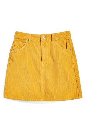 Topshop Corduroy Skirt | Nordstrom