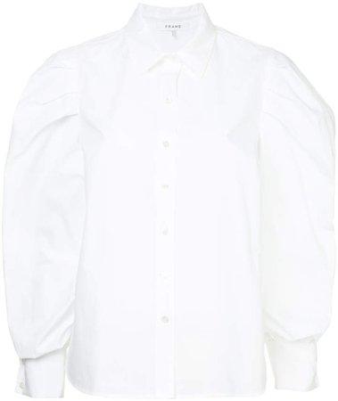 oversized long-sleeve shirt