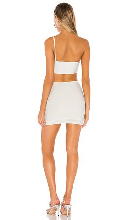 superdown Cherise Mini Dress in Silver | REVOLVE
