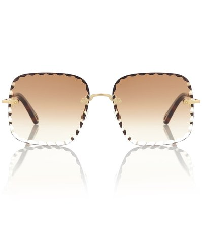 Rosie Square Sunglasses - Chloé | Mytheresa