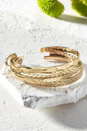 Layering Cuff Bracelet Set | Soft Surroundings