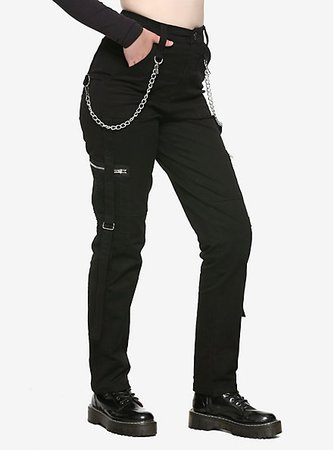 Royal Bones By Tripp Mesh Pocket Cargo Pants
