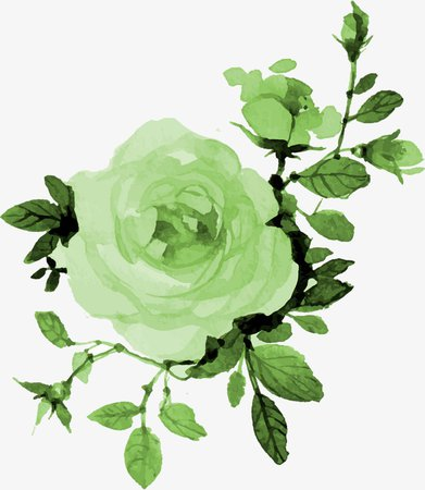 green flower png - Google Search