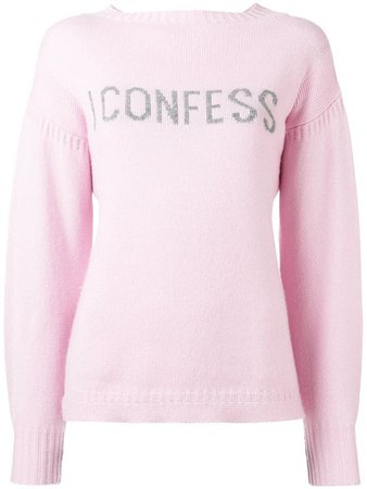 I CONFESS CASHMERE SWEATER