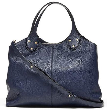 Italian Leather Carryall Bag