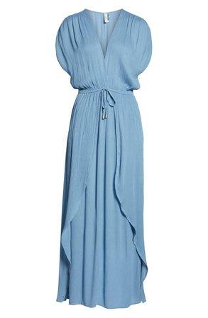 Elan Wrap Maxi Cover-Up Dress   Nordstrom