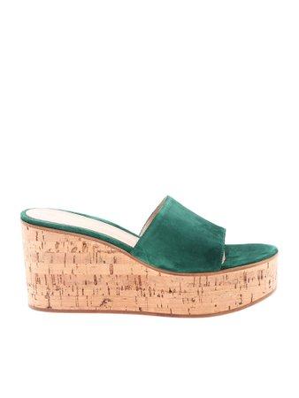 Gianvito Rossi Gea Wedge Sandals