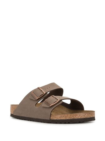 Birkenstock Arizona Flat Sandals - Farfetch