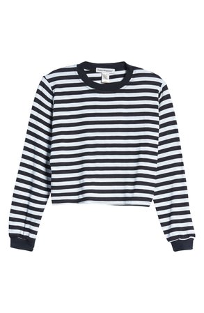 Cotton Emporium Long Sleeve Stripe T-Shirt | Nordstrom