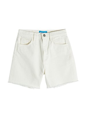 High-Waisted Cut-Off Denim Shorts Gr. 29