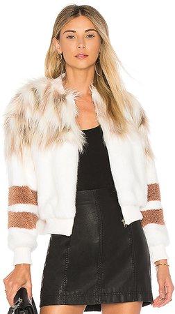 The Bella Faux Fur Bomber