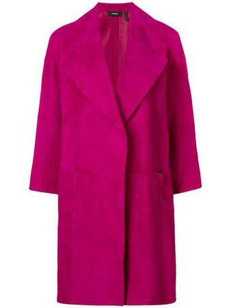 Theory loose-fit Coat - Farfetch