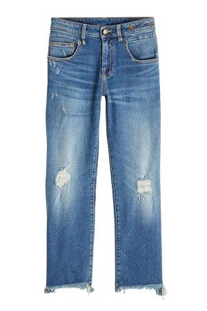 Boy Straight Leg Distressed Jeans Gr. 25
