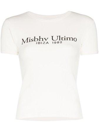 MISBHV Ultimo logo-print T-shirt - Farfetch