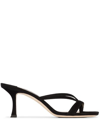 Jimmy Choo, Maelie 70mm suede sandals
