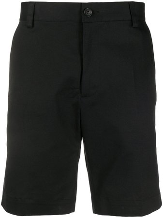 Versace Embroidered Signature Logo Shorts - Farfetch