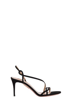 Aquazzura Serpentine 75 Sandals