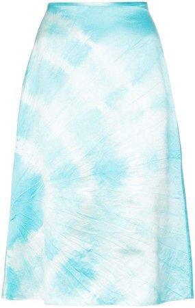 Ashley Williams tie-dye skirt