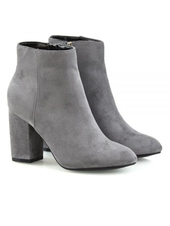 gray ankle boots - Google Search