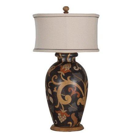 Basil Paisley Lamp   Bohemian Chic Lamps   Belle Escape