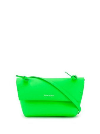 Acne Studios Mini Purse Crossbody Bag CG0048 Green | Farfetch