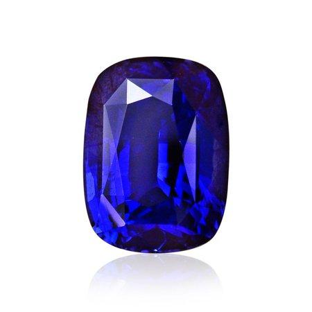 4.51 carat, Royal Blue, Sri Lankan Sapphire, Cushion Shape, GRS, SKU 269163