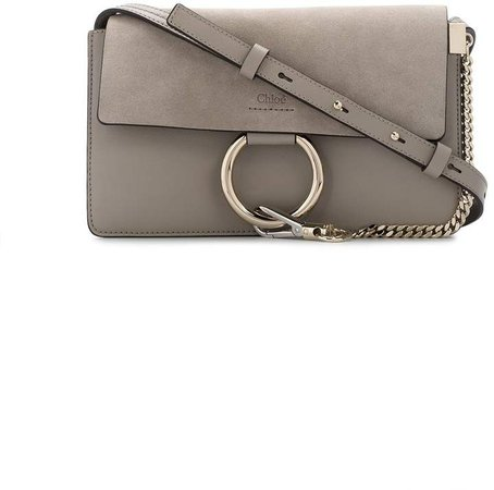 small Grey Faye Shoulder bag