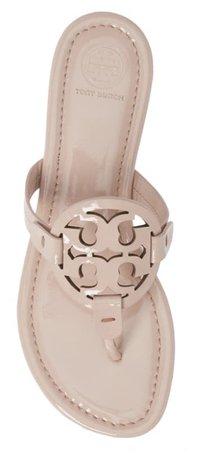 Sandal tory burch miller sea shell pink