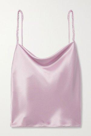 Lilac + NET SUSTAIN Abby satin camisole | Nanushka | NET-A-PORTER