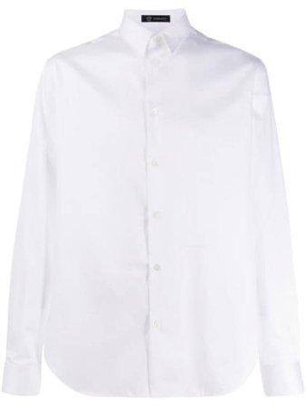 Versace Cotton Long Sleeve Shirt A85988A232917 White | Farfetch