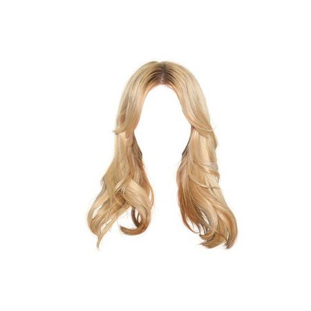 blonde hair png hair edit
