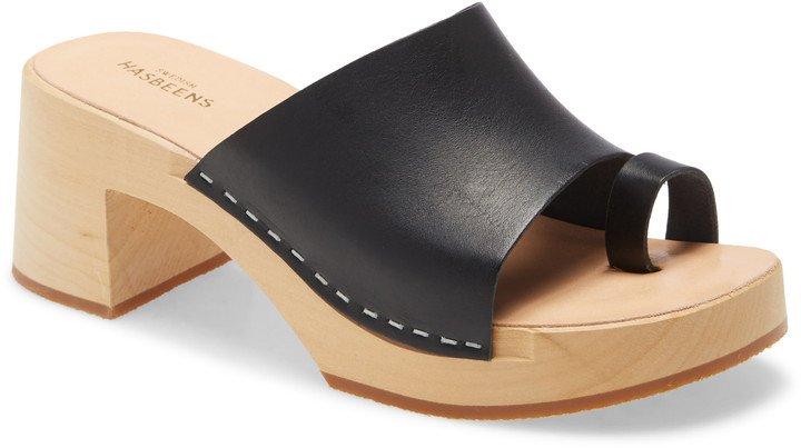 Toe Strap Slide Sandal