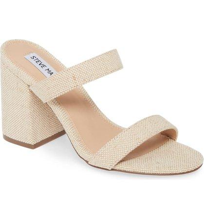 Steve Madden Lounge Block Heel Slide Sandal (Women)   Nordstrom